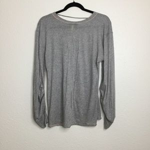 Free People Tops - Free People Movement Long Sleeve Grey Size Small
